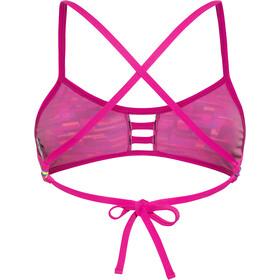 TYR Drift Pacific Tieback Bikini Top Women blue/pink